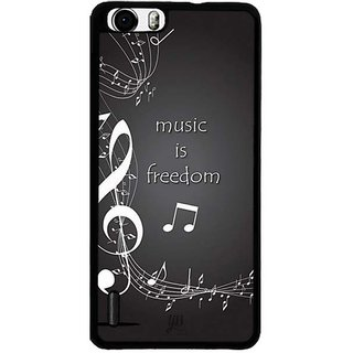 YuBingo Music is Freedom Designer Mobile Case Back Cover for Huawei Honor 6