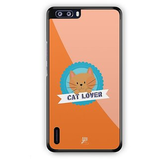 YuBingo Cat Lover Designer Mobile Case Back Cover for Huawei Honor 6 Plus