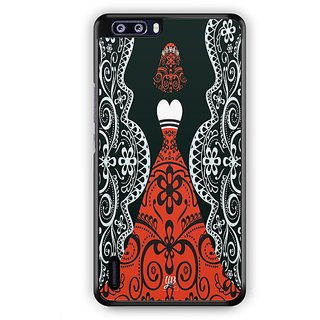 YuBingo Lady in a Evening Gown Designer Mobile Case Back Cover for Huawei Honor 6 Plus