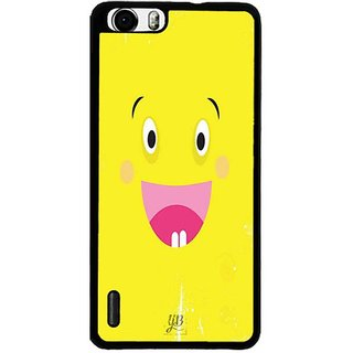YuBingo Excited Smiley Designer Mobile Case Back Cover for Huawei Honor 6
