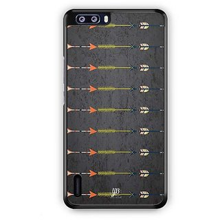 YuBingo Arrow pattern Designer Mobile Case Back Cover for Huawei Honor 6 Plus
