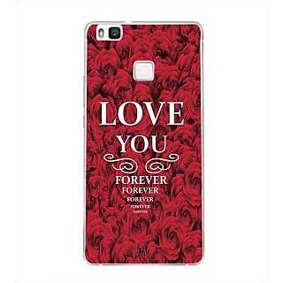 YuBingo Love You Forever Designer Mobile Case Back Cover for Huawei P9 Lite