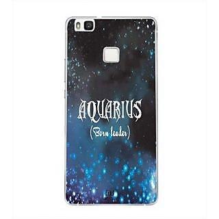 YuBingo Aquarius (Born Leader) Designer Mobile Case Back Cover for Huawei P9 Lite