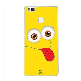 YuBingo Funny Smiley Designer Mobile Case Back Cover for Huawei P9 Lite