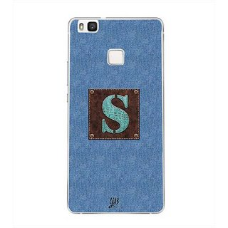 YuBingo Monogram with Beautifully Written Jeans and Macho Male Leather Finish letter S Designer Mobile Case Back Cover for Huawei P9 Lite
