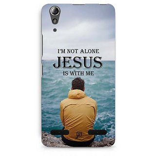 YuBingo Jesus is with Me Designer Mobile Case Back Cover for Lenovo A6000 / A6000 Plus