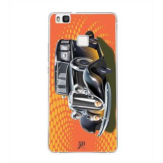 YuBingo Vintage Dream Car Designer Mobile Case Back Cover for Huawei P9 Lite