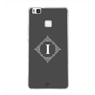 YuBingo Monogram with Beautifully Written letter I Designer Mobile Case Back Cover for Huawei P9 Lite