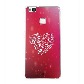 YuBingo Beautiful Heart Designer Mobile Case Back Cover for Huawei P9 Lite