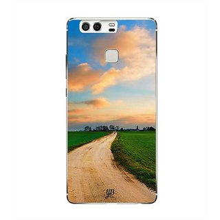 YuBingo Countryside Road Designer Mobile Case Back Cover for Huawei P9