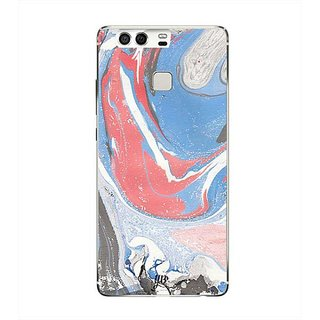 YuBingo Marble Finish (Plastic) Designer Mobile Case Back Cover for Huawei P9