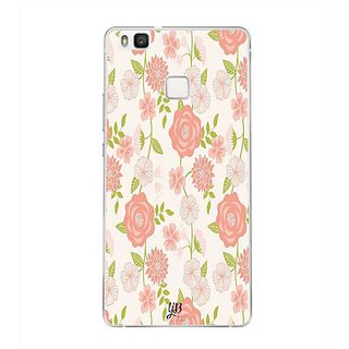YuBingo Rose and leaf pattern Designer Mobile Case Back Cover for Huawei P9 Lite