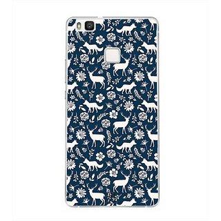 YuBingo Deer and fox pattern Designer Mobile Case Back Cover for Huawei P9 Lite