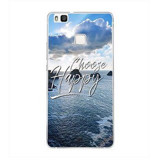 YuBingo Choose Happy Designer Mobile Case Back Cover for Huawei P9 Lite