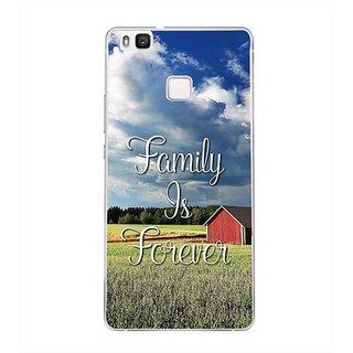 YuBingo Family is Forever Designer Mobile Case Back Cover for Huawei P9 Lite