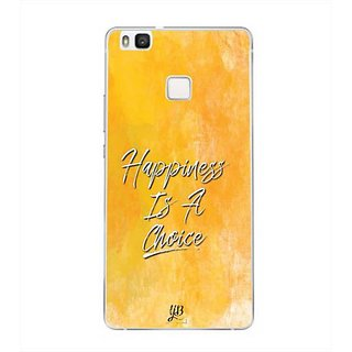 YuBingo Happiness is a Choice Designer Mobile Case Back Cover for Huawei P9 Lite