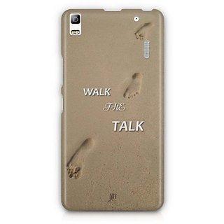 YuBingo Walk the Talk Designer Mobile Case Back Cover for Lenovo A7000 / K3 Note