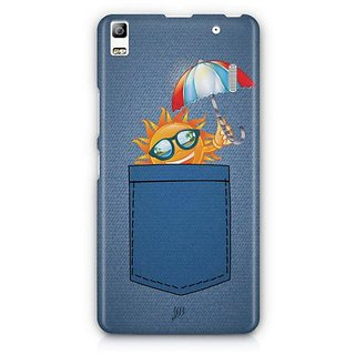 YuBingo Sun in Jeans Designer Mobile Case Back Cover for Lenovo A7000 / K3 Note