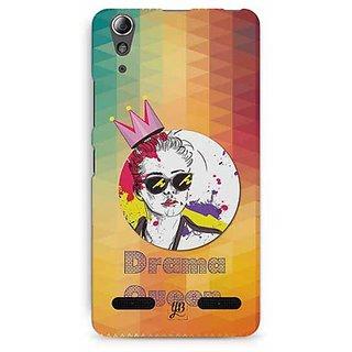 YuBingo Drama Queen Designer Mobile Case Back Cover for Lenovo A6000 / A6000 Plus
