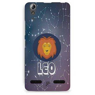 YuBingo Leo Designer Mobile Case Back Cover for Lenovo A6000 / A6000 Plus