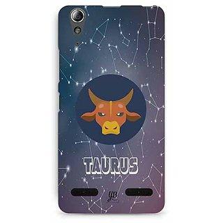 YuBingo Taurus Designer Mobile Case Back Cover for Lenovo A6000 / A6000 Plus