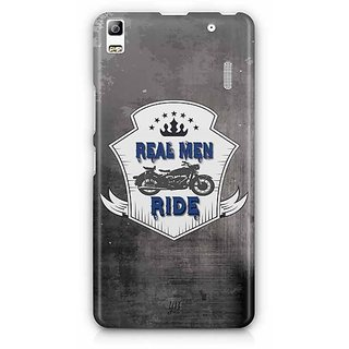 YuBingo Real Men ride Designer Mobile Case Back Cover for Lenovo A7000 / K3 Note