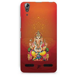 YuBingo Mere Ganpati Designer Mobile Case Back Cover for Lenovo A6000 / A6000 Plus