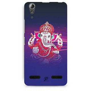 YuBingo Ganpati Bappa Designer Mobile Case Back Cover for Lenovo A6000 / A6000 Plus
