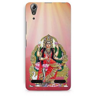 YuBingo Mansa Devi Designer Mobile Case Back Cover for Lenovo A6000 / A6000 Plus
