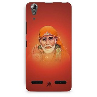 YuBingo Jai Sai Baba Designer Mobile Case Back Cover for Lenovo A6000 / A6000 Plus