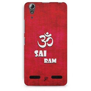 YuBingo Om Sai Ram Designer Mobile Case Back Cover for Lenovo A6000 / A6000 Plus
