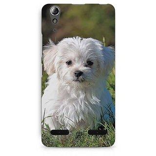 YuBingo Adorable Dog Designer Mobile Case Back Cover for Lenovo A6000 / A6000 Plus