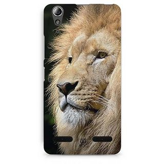 YuBingo Lion Designer Mobile Case Back Cover for Lenovo A6000 / A6000 Plus