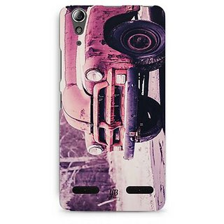 YuBingo Vintage car Designer Mobile Case Back Cover for Lenovo A6000 / A6000 Plus