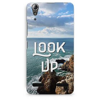 YuBingo Look Up Designer Mobile Case Back Cover for Lenovo A6000 / A6000 Plus
