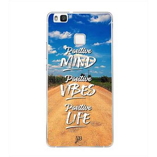 YuBingo Positive Mind Designer Mobile Case Back Cover for Huawei P9 Lite