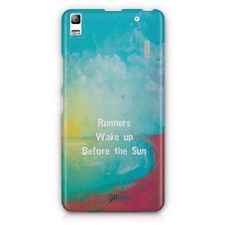 YuBingo Runners Wake Up Before The Sun Designer Mobile Case Back Cover for Lenovo A7000 / K3 Note