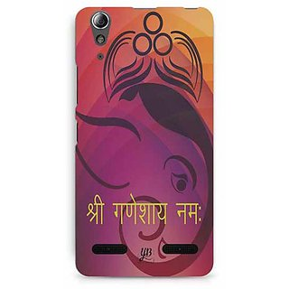 YuBingo Shree Ganeshaya Namah Designer Mobile Case Back Cover for Lenovo A6000 / A6000 Plus