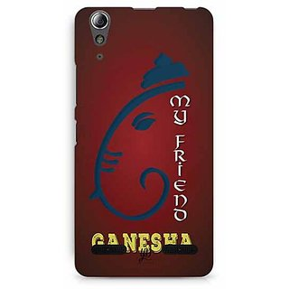 YuBingo My Friend Ganesha Designer Mobile Case Back Cover for Lenovo A6000 / A6000 Plus