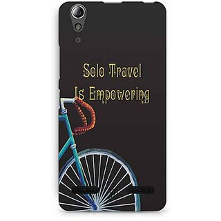 YuBingo Solo Travel is Empowering Designer Mobile Case Back Cover for Lenovo A6000 / A6000 Plus