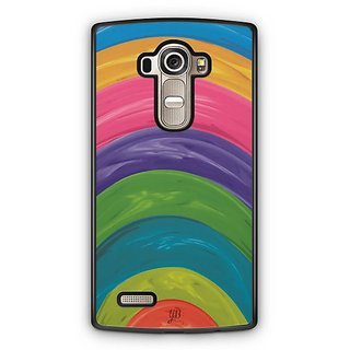 YuBingo Colourful Circles Designer Mobile Case Back Cover for LG G4