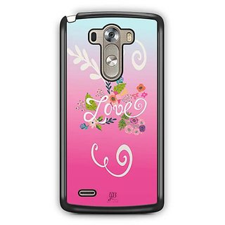 YuBingo Love Designer Mobile Case Back Cover for LG G3