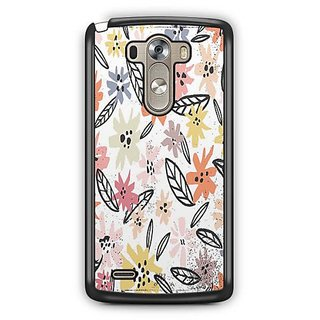 YuBingo Multi colour flowers pattern Designer Mobile Case Back Cover for LG G3