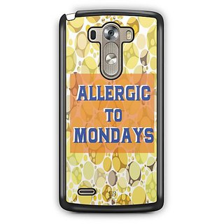 YuBingo Allergic to Mondays Designer Mobile Case Back Cover for LG G3