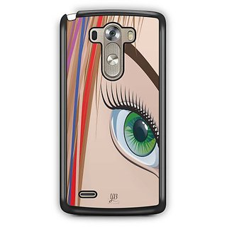 YuBingo Look at my Eye Designer Mobile Case Back Cover for LG G3