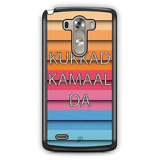 YuBingo Kukkad Kamaal Da Designer Mobile Case Back Cover for LG G3