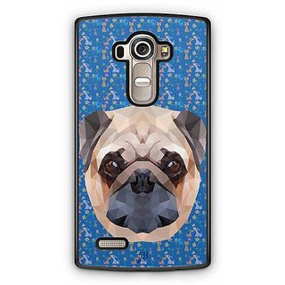 YuBingo The Bulldog Designer Mobile Case Back Cover for LG G4
