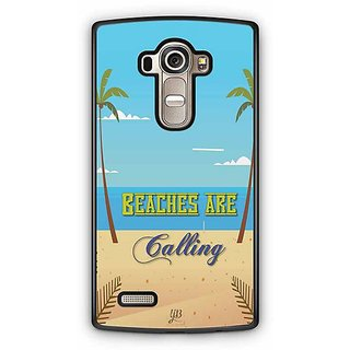 YuBingo Beaches are Calling Designer Mobile Case Back Cover for LG G4