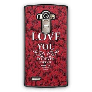 YuBingo Love You Forever Designer Mobile Case Back Cover for LG G4