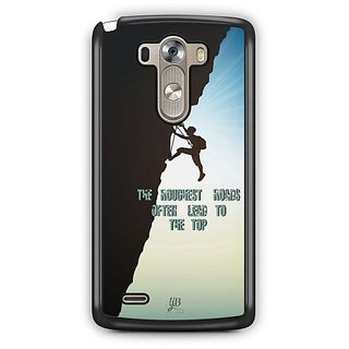 YuBingo Roughest Roads Lead to the Top Designer Mobile Case Back Cover for LG G3